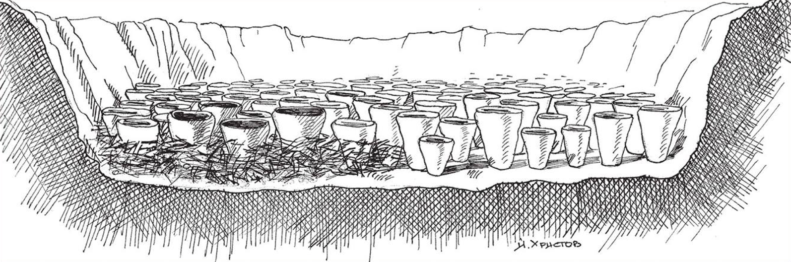 salt production vessels drawing