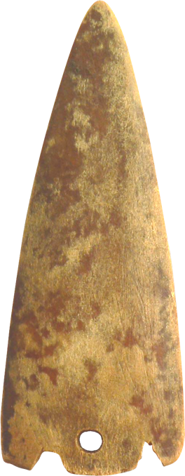 Bone projectile for a spear - late chalcolithic